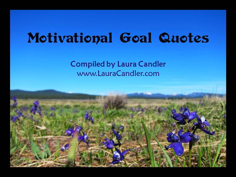 Download a free Motivational Goal Quote collection from Laura Candler's Teaching Resources