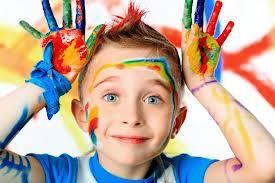arte niños. felicidad