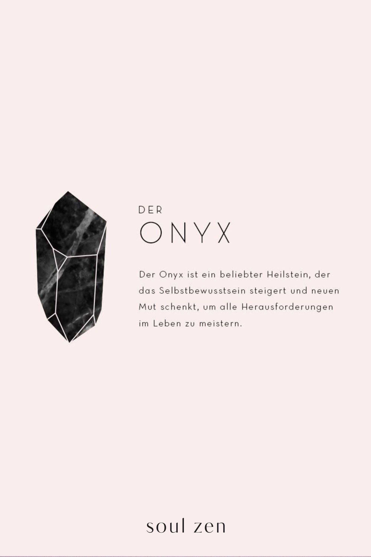 Photo of // DER ONYX // Erfahre alles über die Bedeutung und Wirkung unserer liebsten Ed…