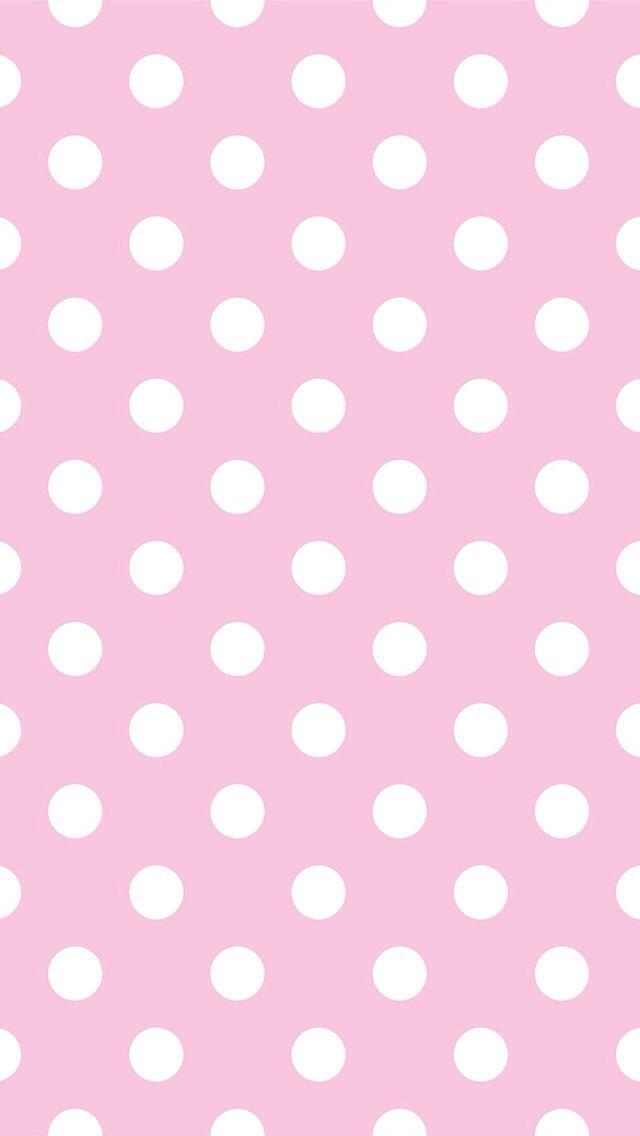 Pink Polka Dot Iphone Wallpaper Walljdi Org