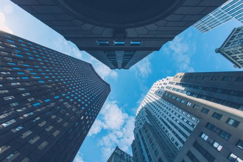 FiDi look up | NYC