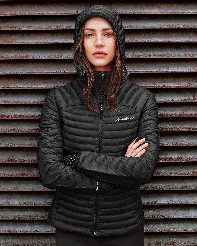 Women s Microtherm® Stormdown® Hooded Jacket  93f86b5fa88f4