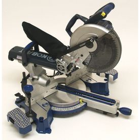 Kobalt 10 In 15 Amp Sliding Compound Laser Miter Saw