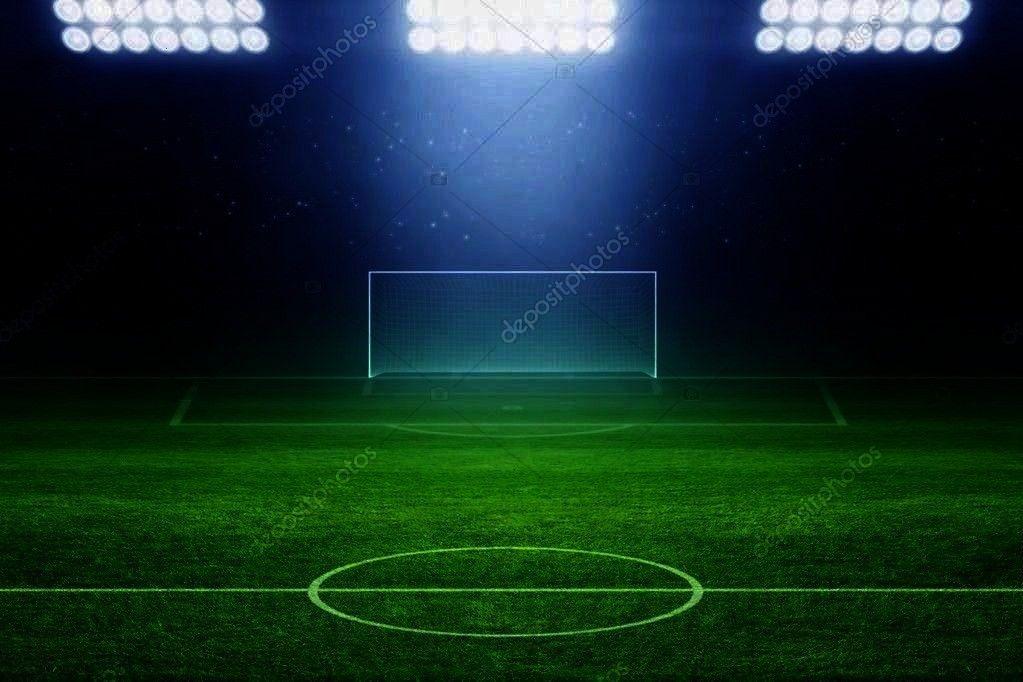 stadium - Stock Photo ,  6328 Soccer Stadium Field Backdrop  Christmas card with neon tree  Cool Li