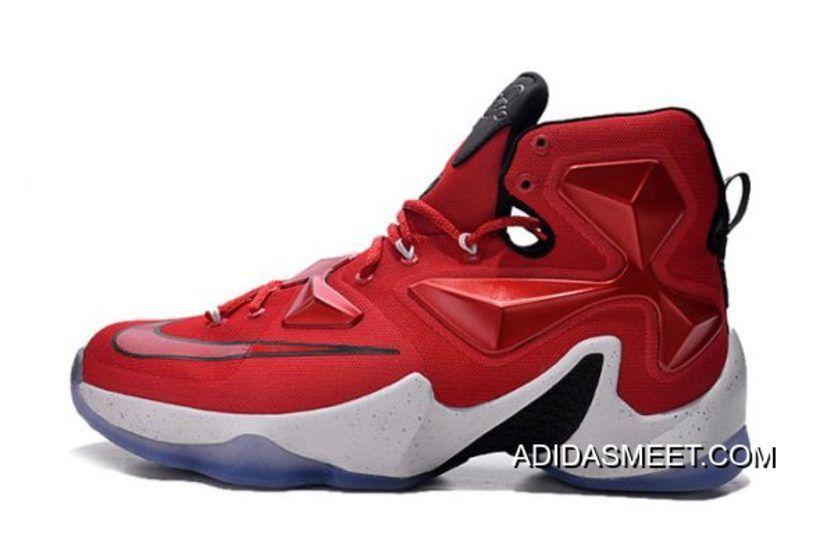 "half off 0608d f2a4f Online Nike LeBron 13 ""On Court"" University Red White-Black-Laser Orange  807219-610, Price   94.34 - kanye yeezy boost Store"