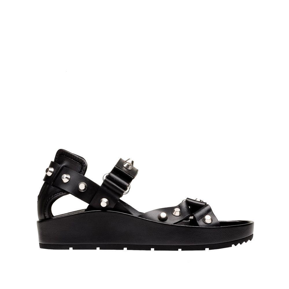 Women's Balenciaga Strap Flat Sandals | Balenciaga