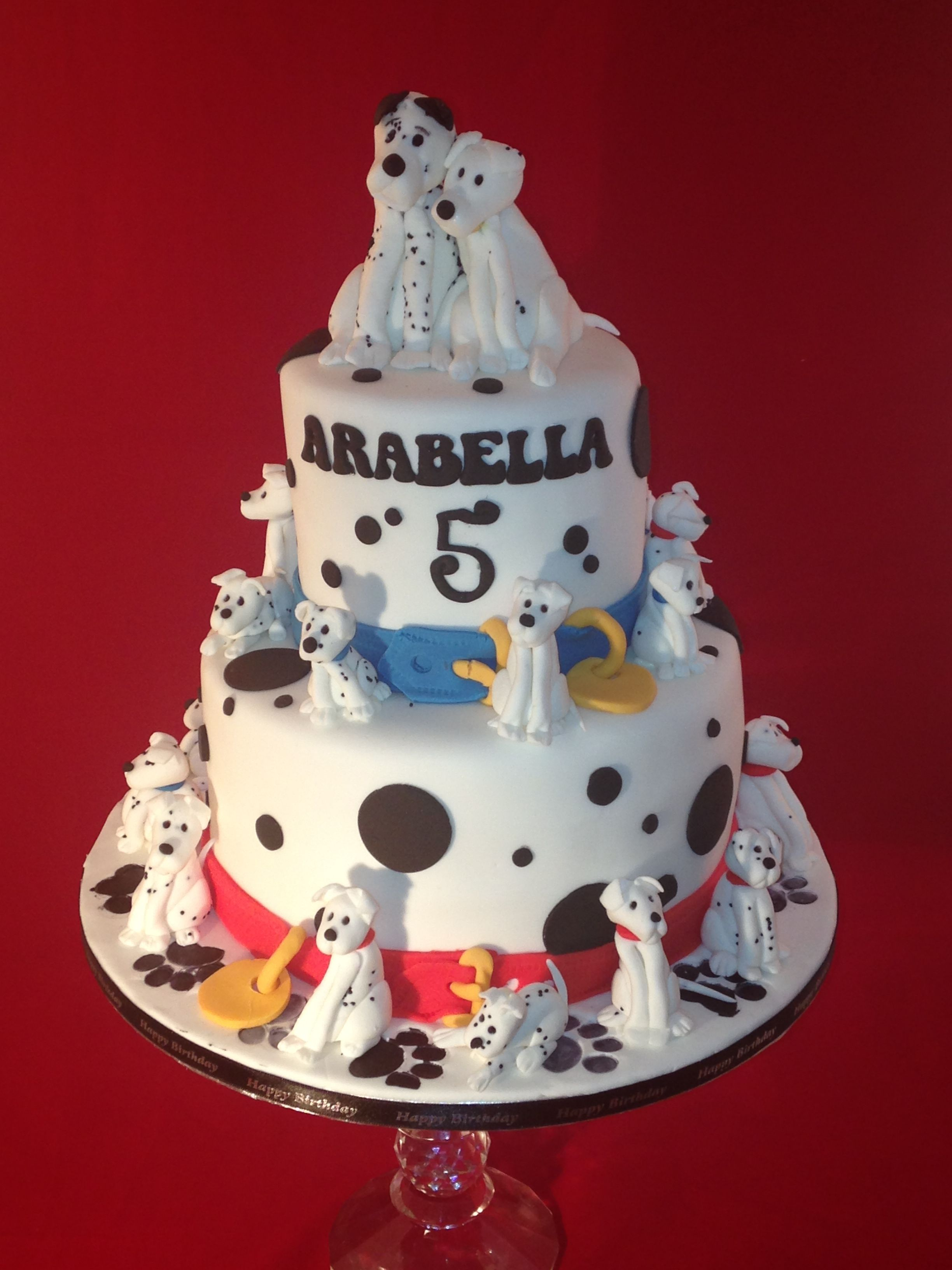 101 Dalmations httpkitchenwitchcraftcouk Cakes Pinterest