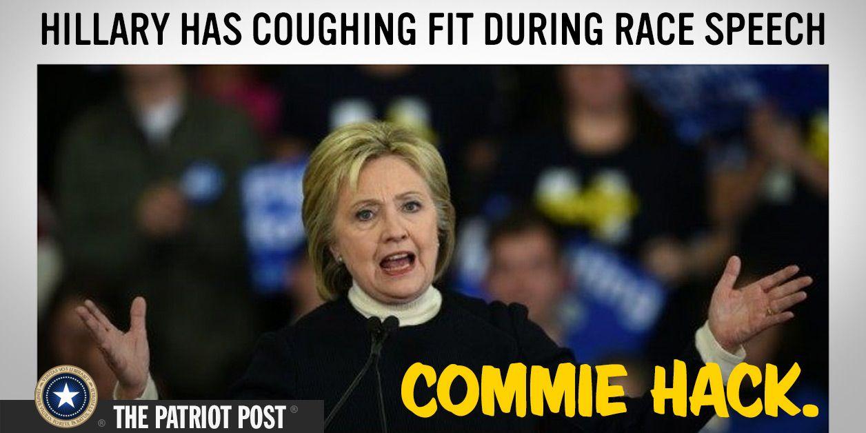 Humor: Clinton Has a Fit