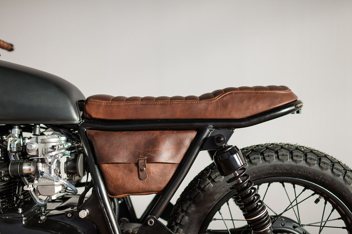 This 1975 Honda CB550 Is Not Your Typical CB Cafe Racer Its Probably One Of The Fastest Vintage Hondas Weve Ever Seen