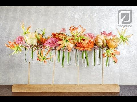 ▶ Table decoration with flowers made by Hanneke Frankema - YouTube