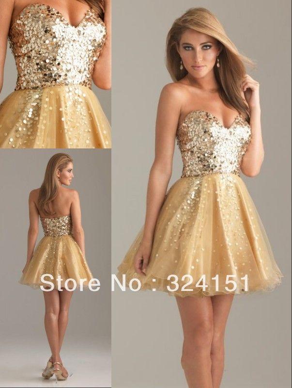 2013-New-Fashion-A-Line-Cheap-Sweetheart-Mini-Beaded-Organza ...