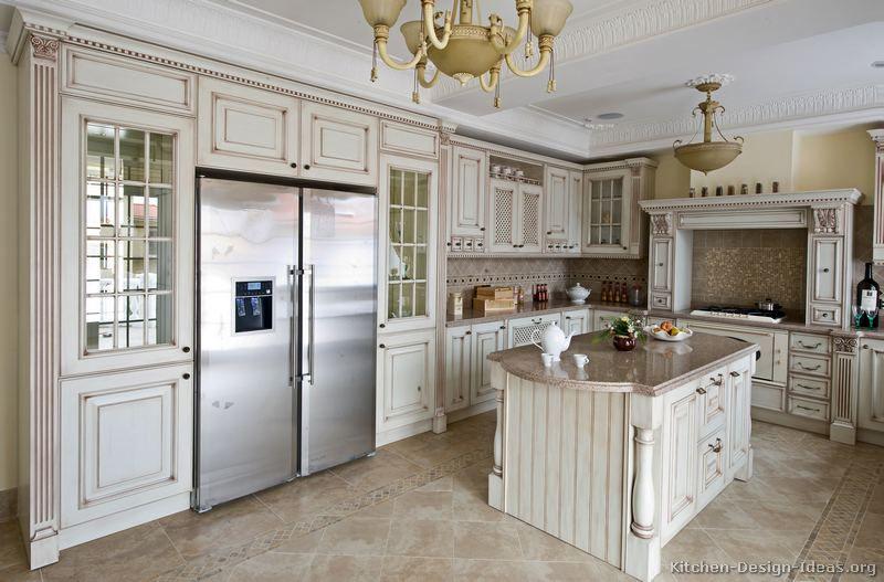 antique kitchen cabinets - from kitchen-design-ideas | kitchen