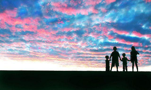 Cotton Candy Sky by Ashley McNamara Photography