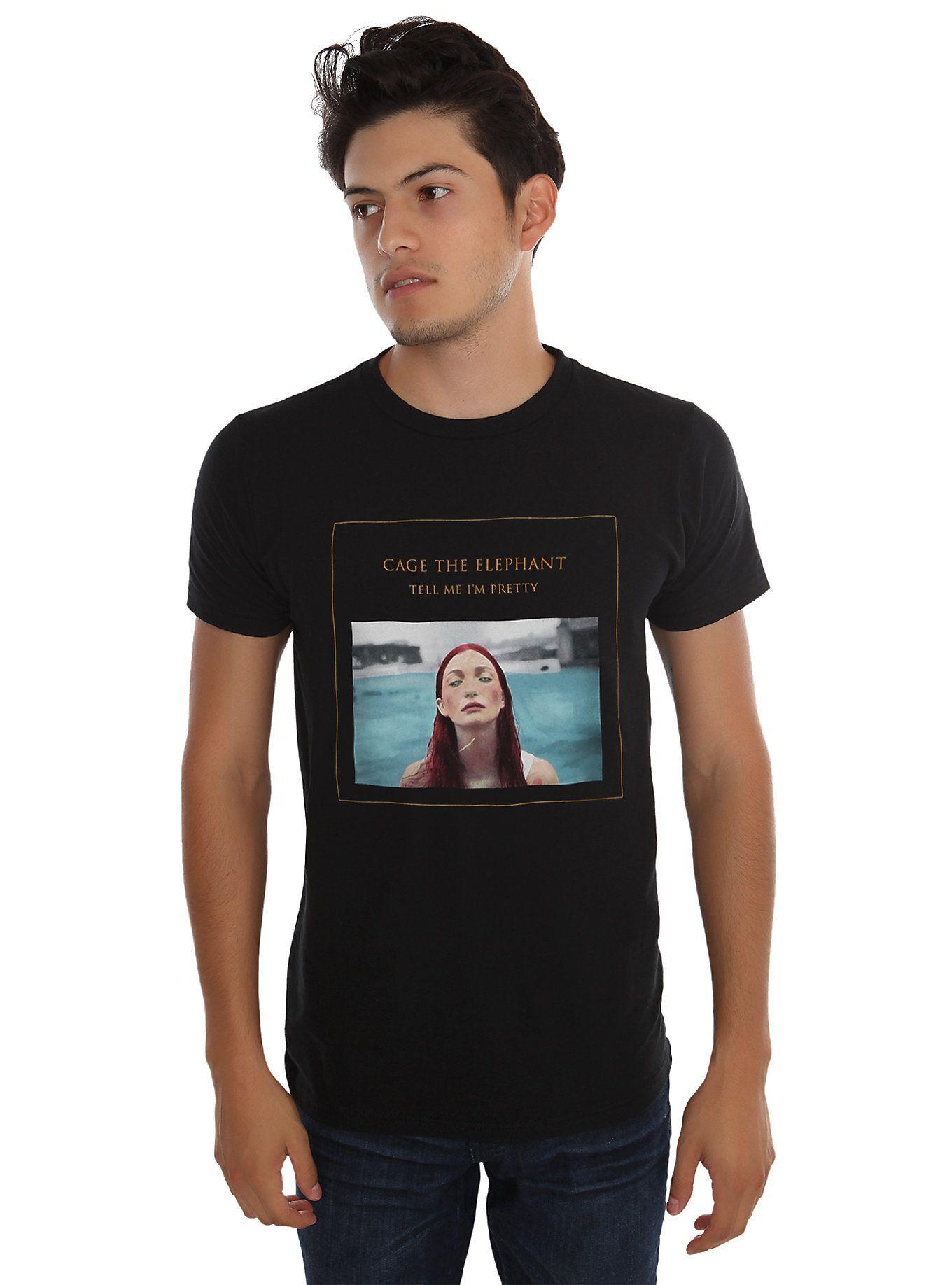 Im black t shirt - Cage The Elephant Tell Me I M Pretty T Shirt Hot Topic