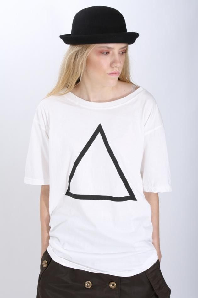 [for_play] Triangle T-Shirt