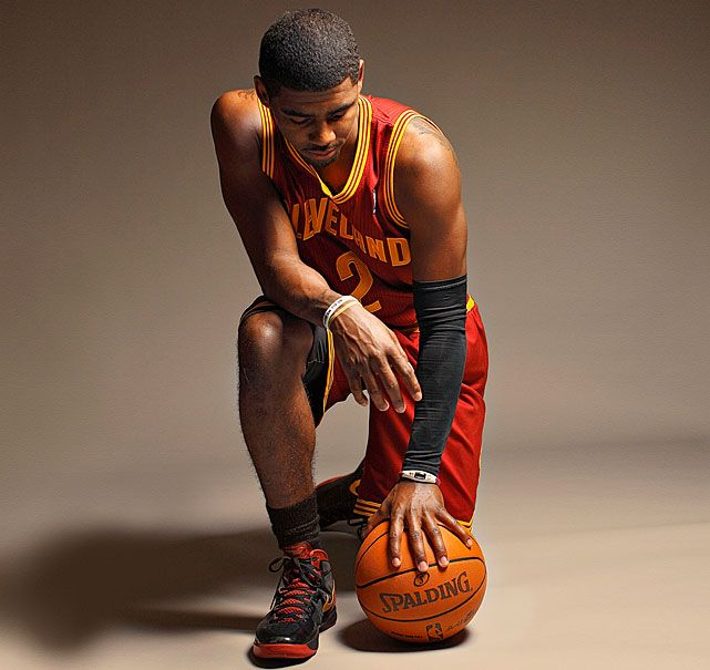 Kyrie Irving Basketball The NBA Rookie Of The Year Seems
