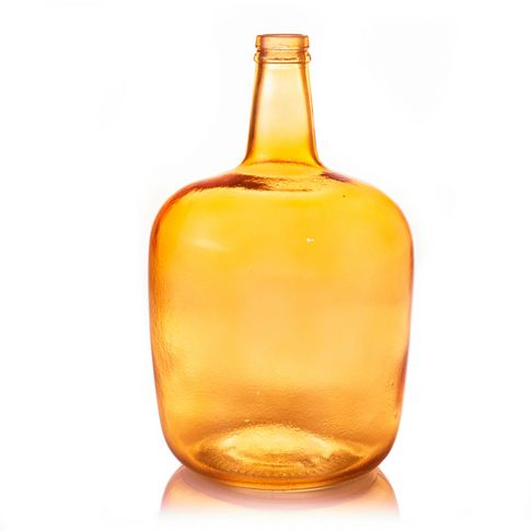 Recyclingvase in orange bei IMPRESSIONEN.AT