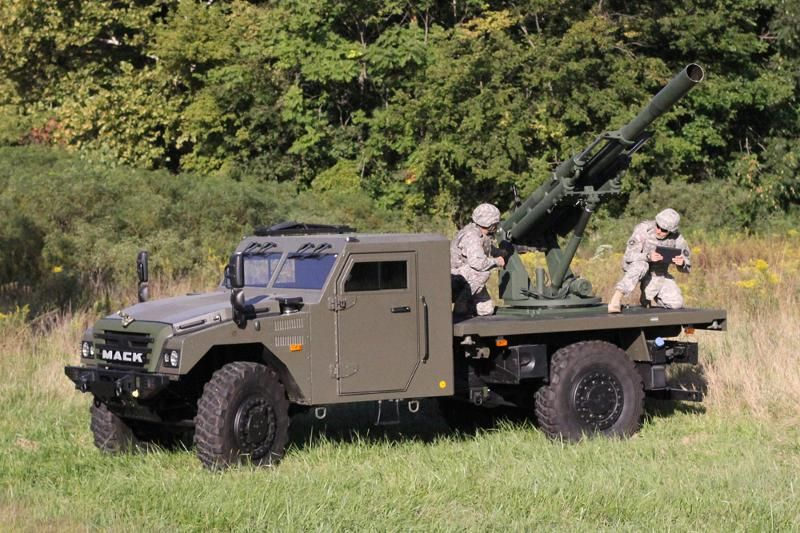 Watch the Army test its new 105mm Hawkeye Humvee-mounted