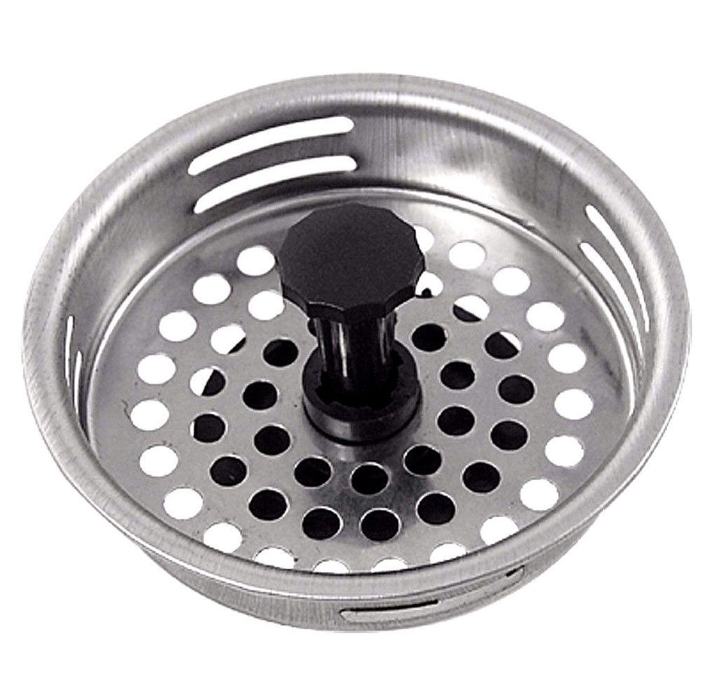 Family Chef Sink Strainer Basket Stainless Steel Standard 3 5 Inch New Familychef Kitchen Sink Strainer Kitchen Sink Sink Drain Stopper