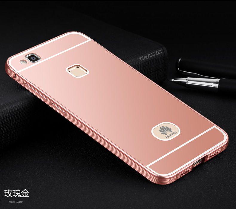 Huawei P9 Lite case Luxury Ultra thin Aluminum Metal Frame PC ...