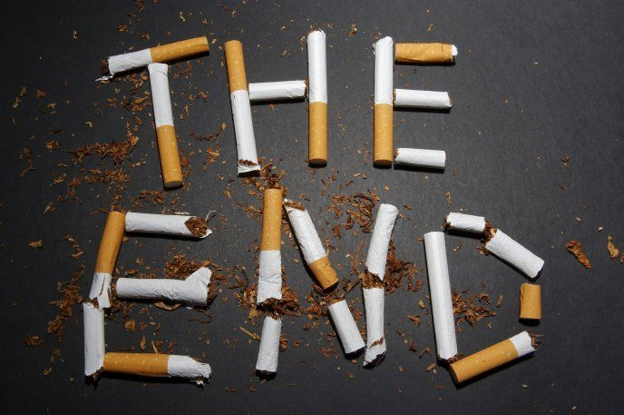The End Written In Cigarettes Hd Desktop Mobile Wallpaper Th