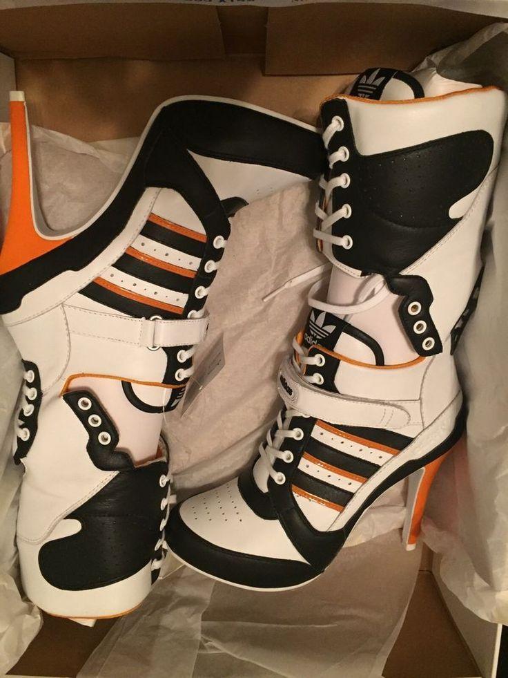 b5ec958c00a8 Resultado de imagen de Adidas By Jeremy Scott 130mm JS High Heel Leather  Boots