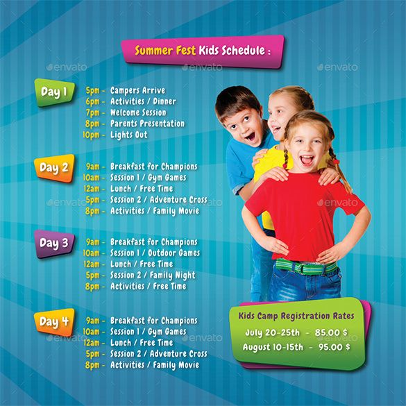 Contoh Brosur TK RA dan PAUD Brochure \ Pamphlet Designs - gym brochure