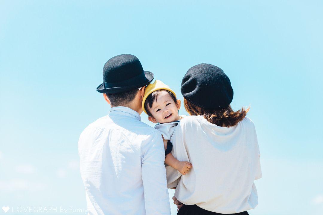 東京で撮影したHaruto Familyの家族写真(ファミリーフォト)です。   Lovegraph[ラブグラフ]では、マタニティフォトやエンゲージメントフォトなどの記念写真から、水族館デートの写真など様々なシーンに出張撮影を行っています。関東に限らず、日本各地、海外での撮影が可能です。