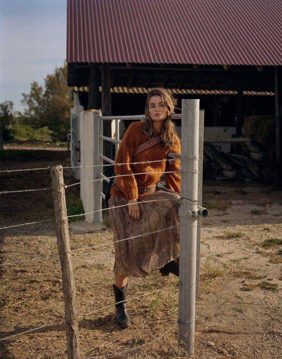 Andreea Diaconu por Dan Martensen para Vogue Paris Agosto 2017