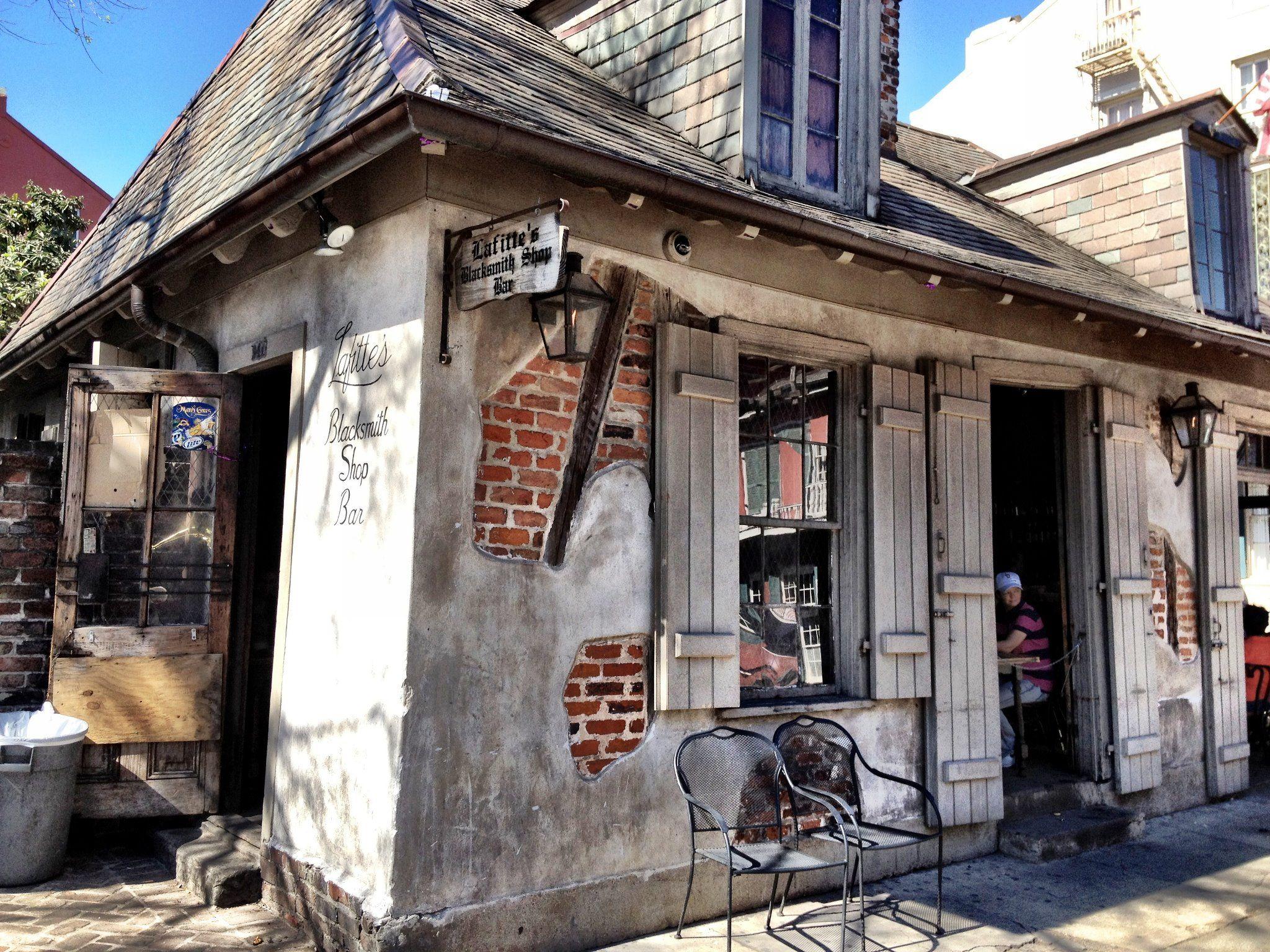 Image result for lafitte's blacksmith shop bar