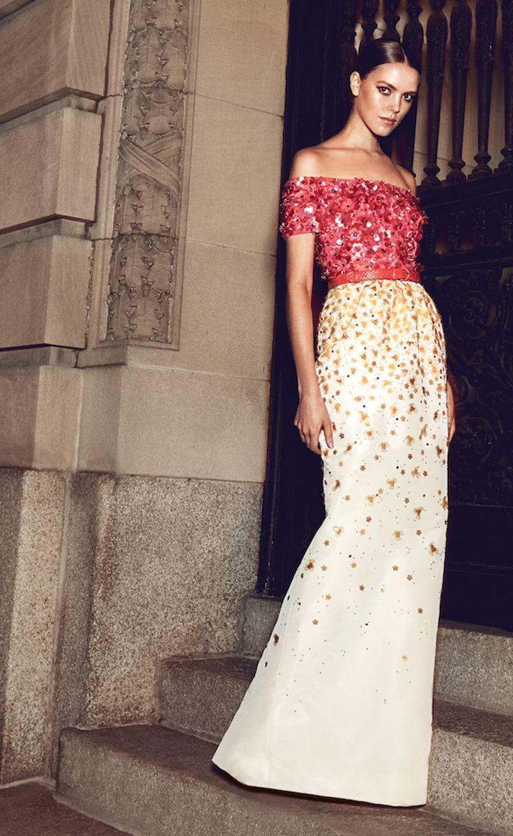 Oscar de la renta resort dream wardrobe pinterest gowns
