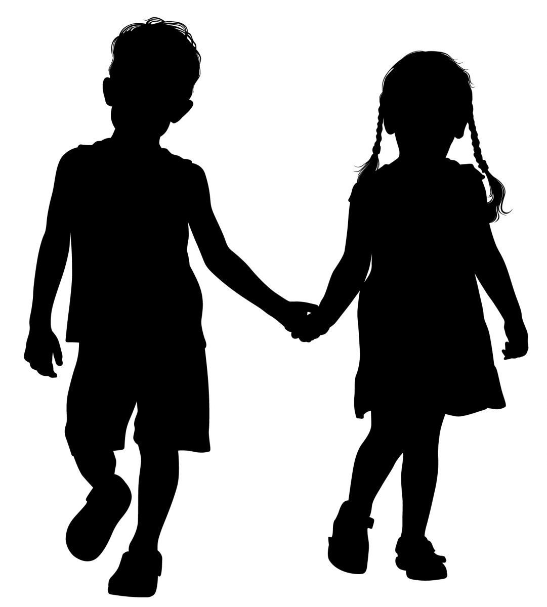 Helping Hand Clipart Black And ...
