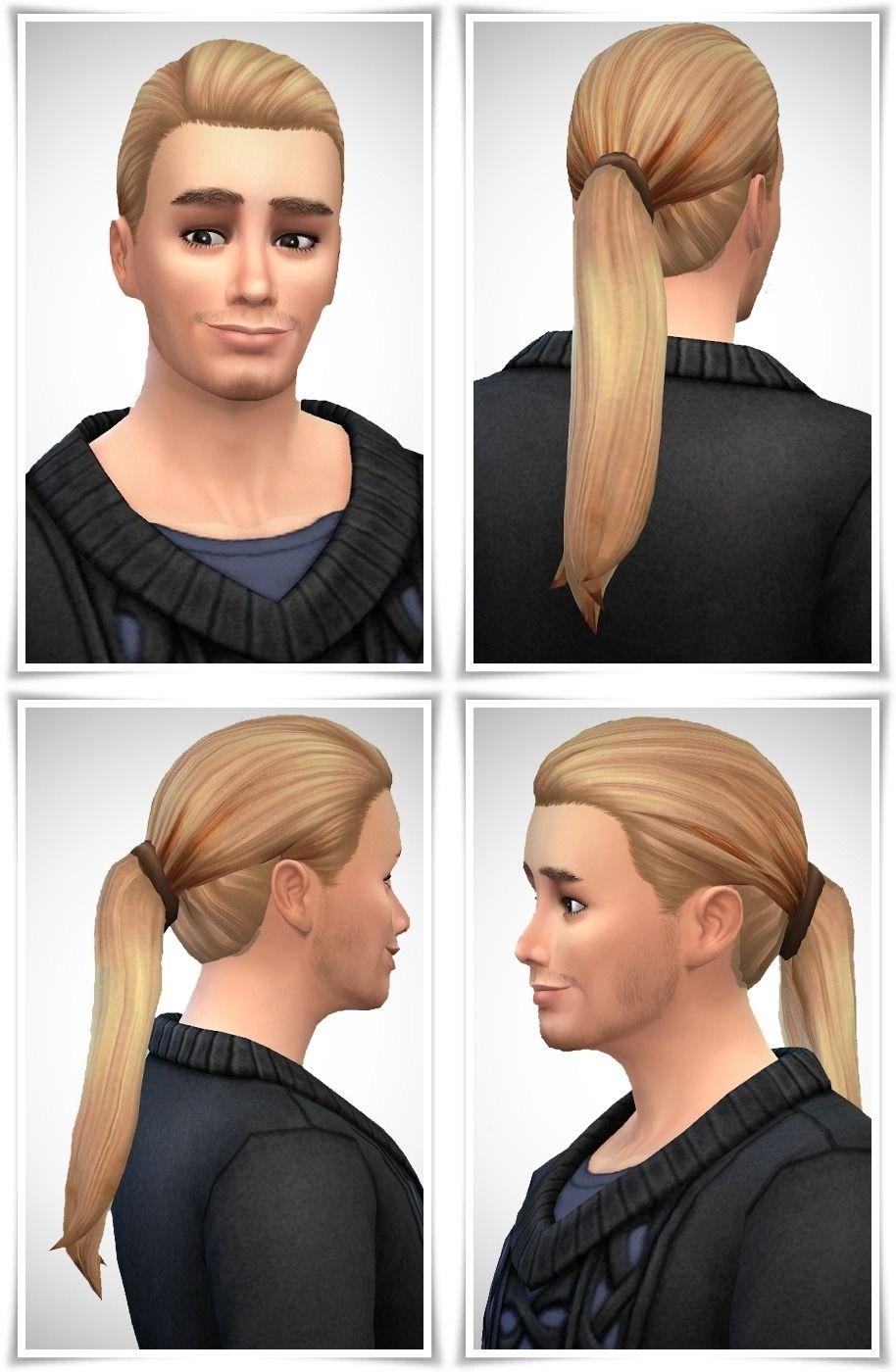 GentsLongPonytail | Ponytail hairstyles, Long ponytails, Hair styles