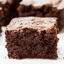 Sweet, decadent and ultra-fudgy, these almond flour brownies are sinfully delicious.