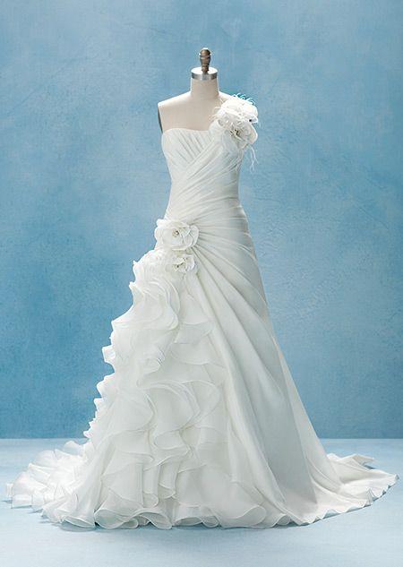 Alfred Angelo Ariel Dress 2 Disney Wedding Dresses Ariel