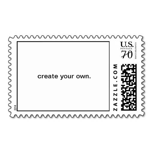 Have heavier or square invitations?  Create your own 70 cent postage!