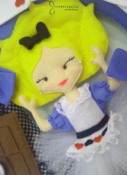 Guirlanda Alice No Pais Das Maravilhas Alice No Pais Das