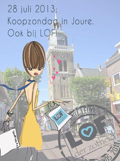 Ontwerp koopzondag Joure - LOFderZotheid