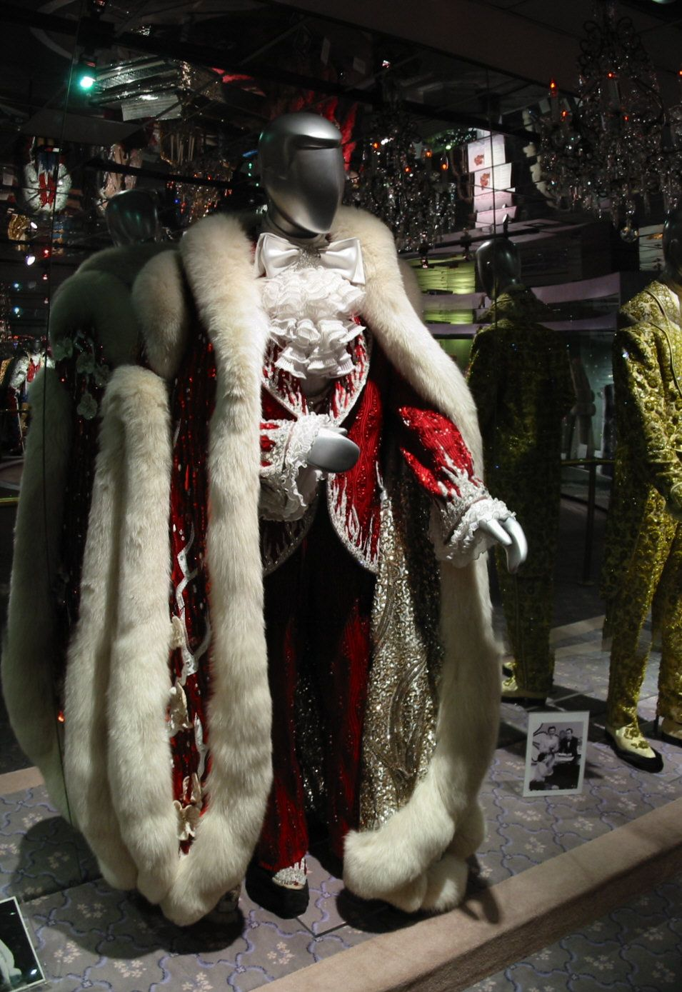 Liberaces Early 1980s Christmas Costume Worn At The Las Vegas