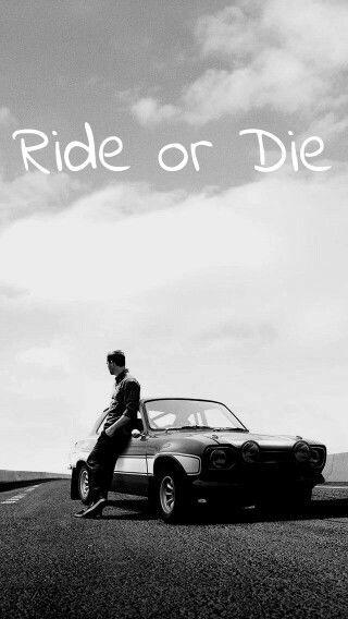 Ride or Die. Wallpaper I created. | Cartazes de cinema ...
