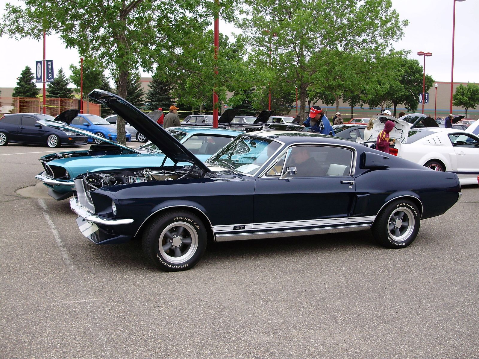 1968 ford mustang 1968 ford mustang gt fastback picture exterior