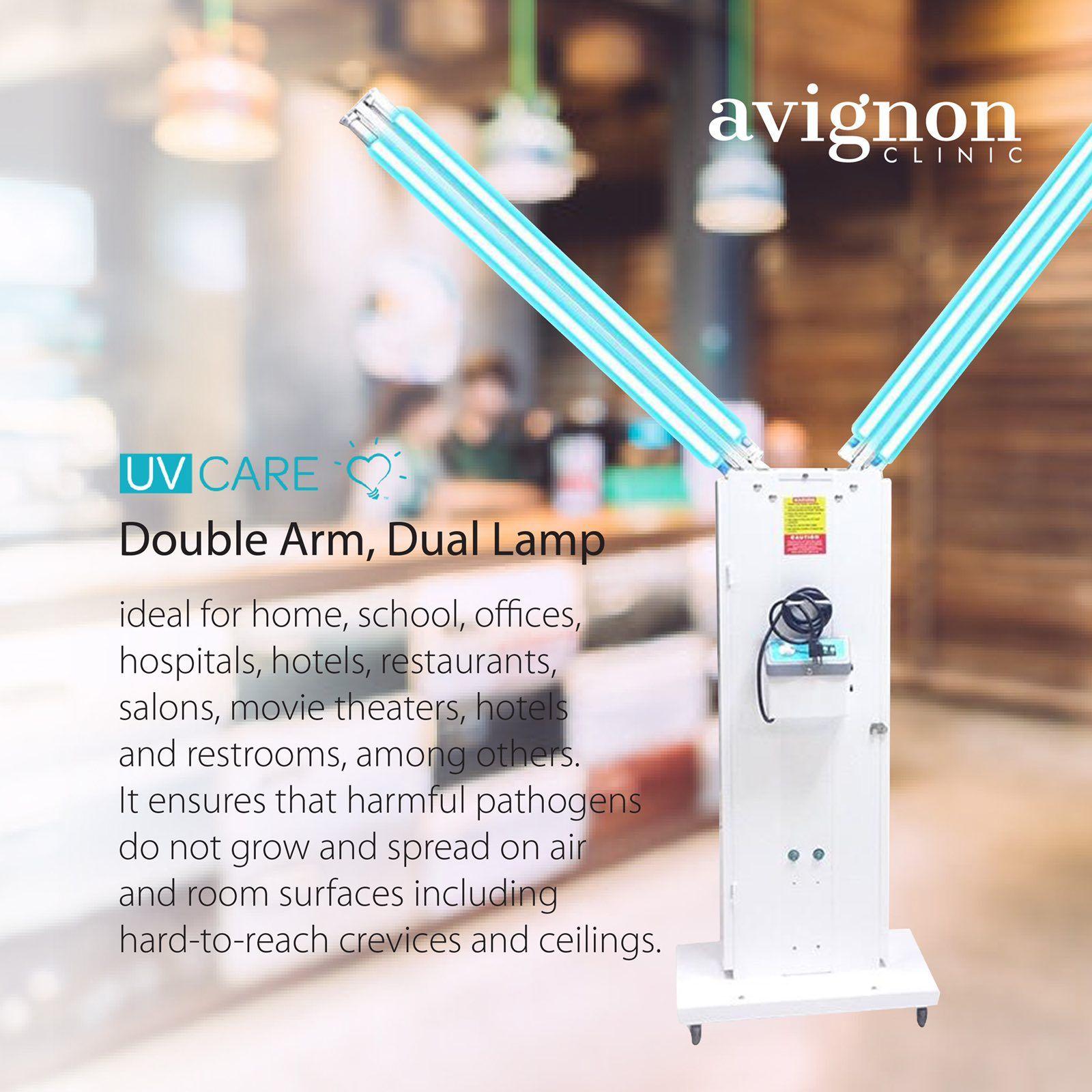 Avignon Uv Care Sterilizer Double Arm In 2020 Avignon Care Uv Light