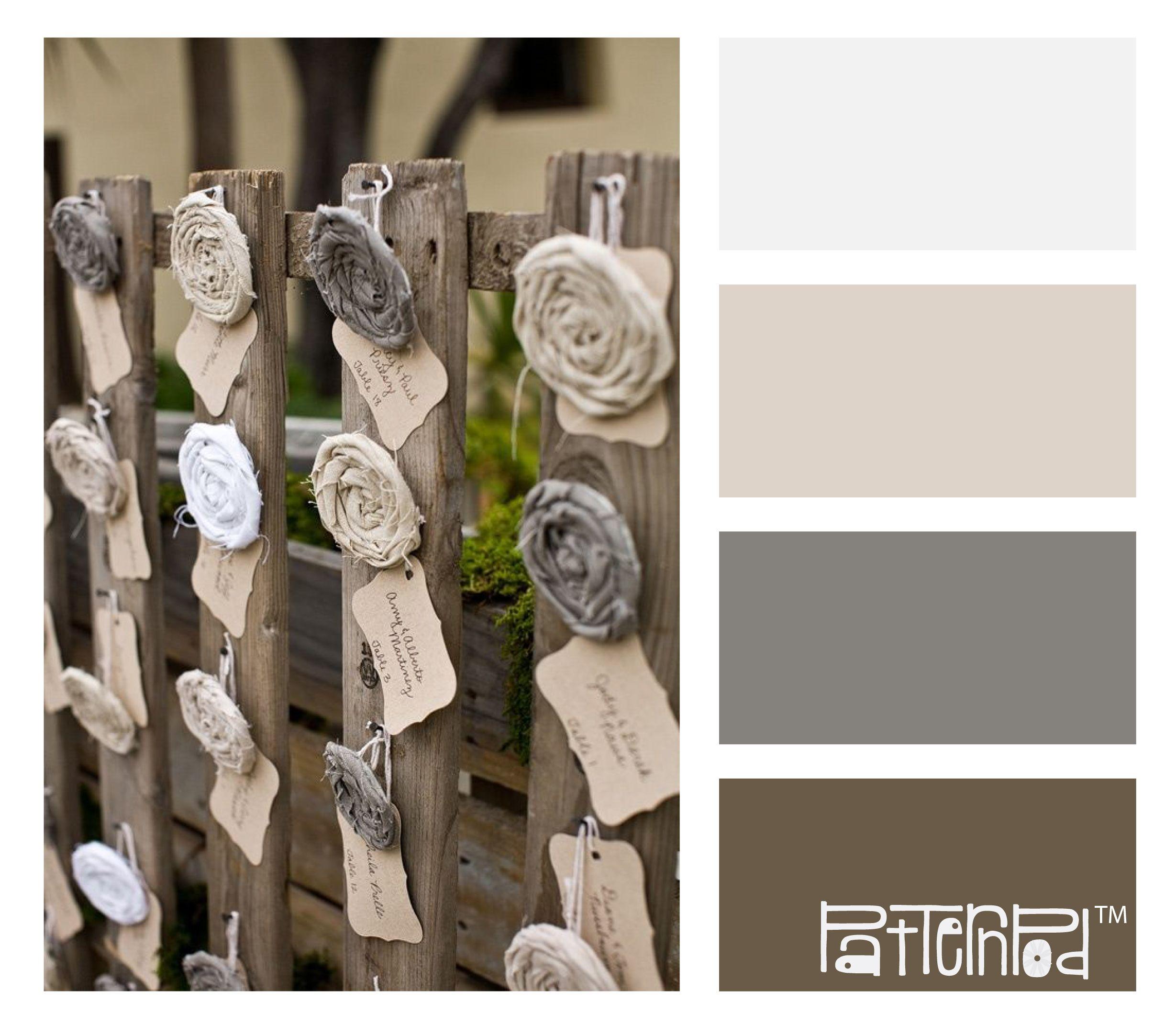 #patternpod #color #neutrals #earthtones #weddings
