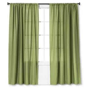 Farrah Curtain Panel Green 54x84