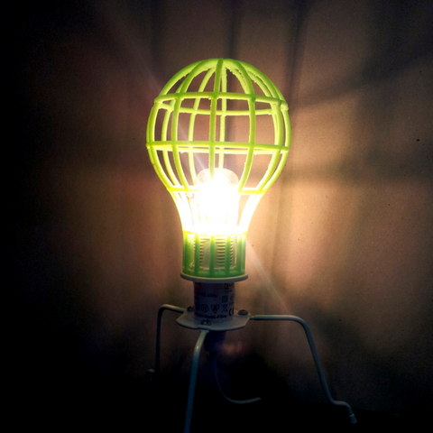 Lightbulb Mesh Lampshade Light Bulb Lamp Lampshades