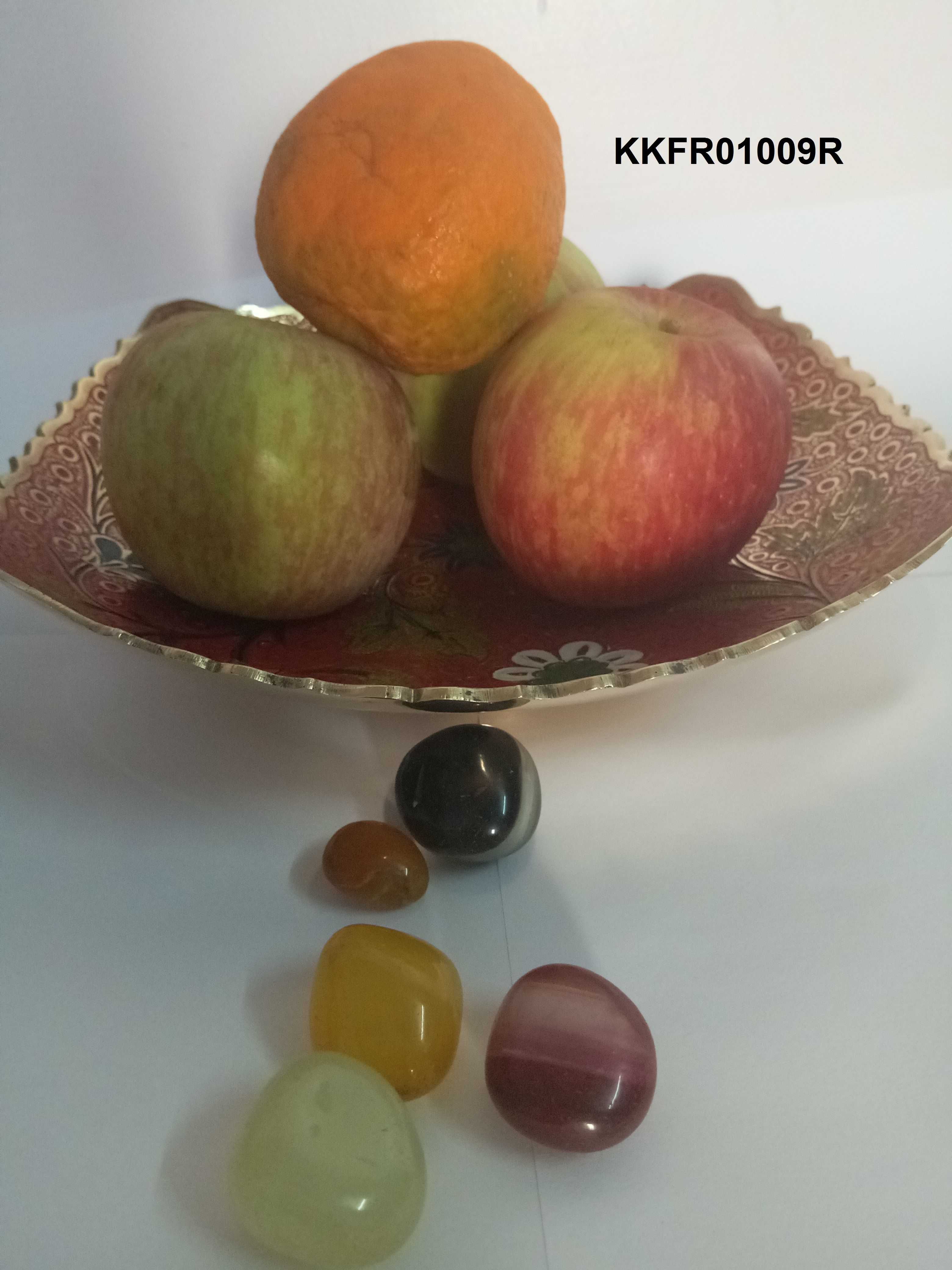 KANAK KOSH IS PRESENTING HAND CRAFTED METAL BRASS FRUIT BOWL OR  MULTIPURPOSE PLATE WITH BEAUTIFUL MINAKARI