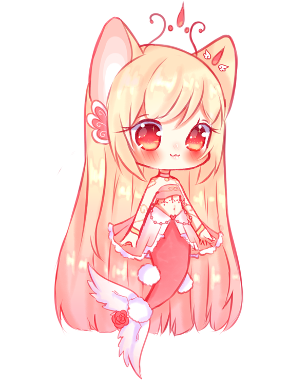 Open Mermaid Adoptable Auction By Seraphy Chan Cute Anime