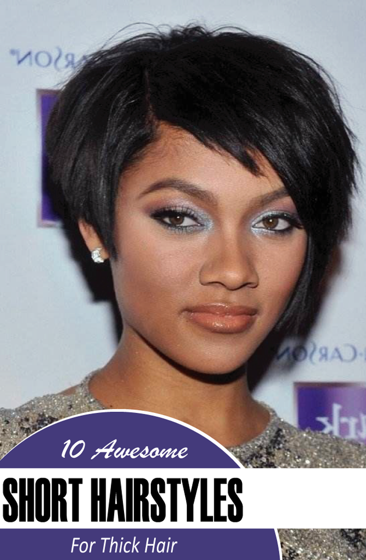 Short hairstyles are the best choice for the working women for its
