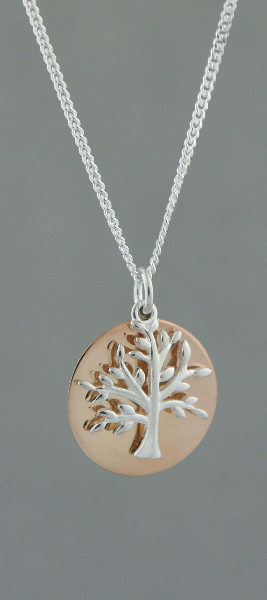 Sterling Silver tree of life Necklace tree of life Necklace spiritual jewelry Silver Bhuddhist Necklace tree Layering Necklace