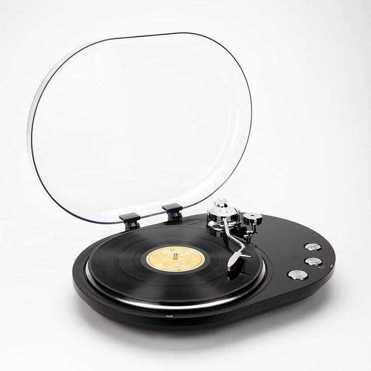Oval USB Turntable Converts Vinyl Recorders into Digital Music.